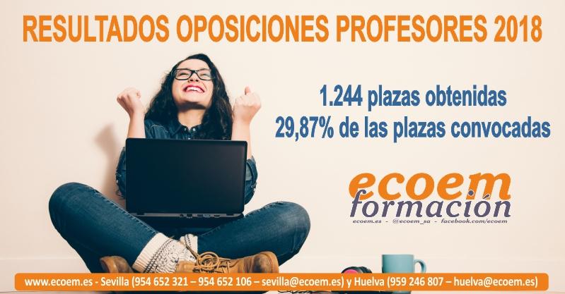 Resultados Ecoem Oposiciones Profesores 2018
