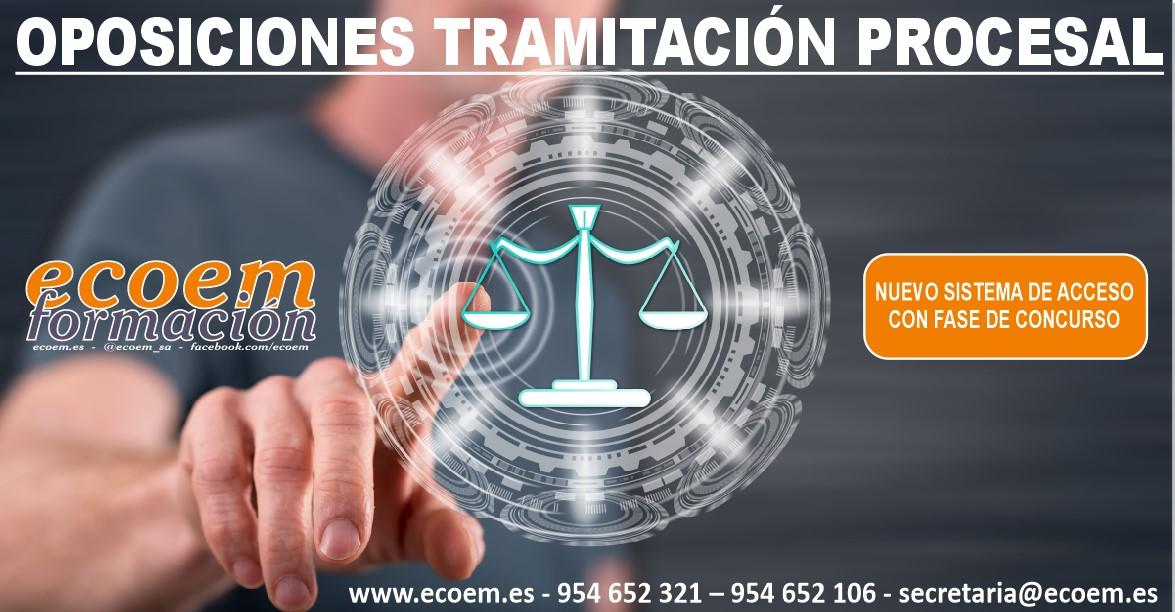 oposiciones Justicia: auxilio judicial y tramitación procesal y administrativa