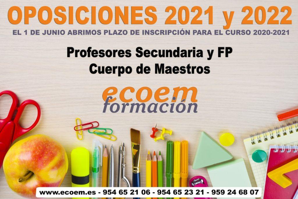 oposiciones maestros y profesores en Ecoem